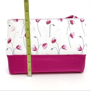 TAHARI Flower Cosmetic bag - Pink